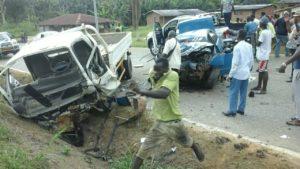 Les voitures ont subi des dommages importants