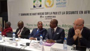 Ouverture des travaux du séminaire du Conseil de Paix et de Sécurité de l'UA